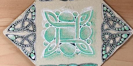 Zentangle for Children: Celtic knots tickets