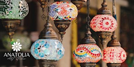 Turkish Mosaic Lamp Workshop - Melbourne tickets