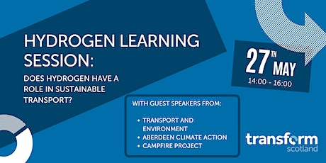 Hydrogen Learning Session tickets
