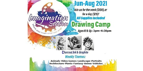 Summer Drawing Camp tickets