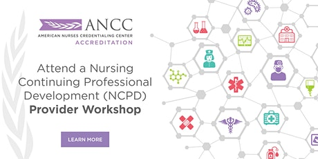 NCPD Accredited Provider Virtual Workshop July Series tickets