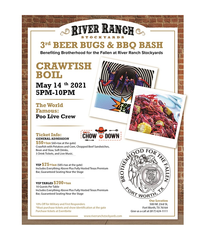 3rd Annual Beer Bugs and BBQ Bash image