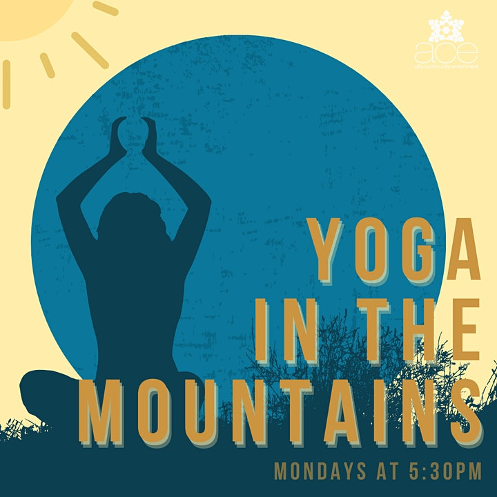 Yoga in the Mountains image