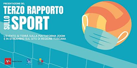 Terzo Rapporto sullo Sport in Toscana biglietti