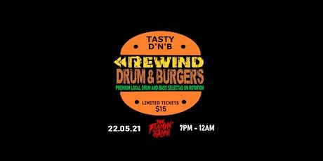 Rewind DnB presents: Drum & Burgers tickets
