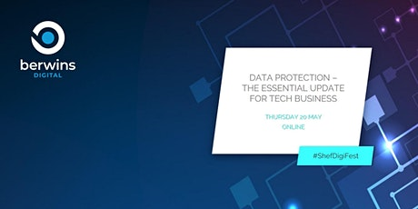 Data Protection – the essential update for tech businesses tickets