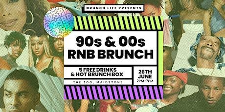 90s vs 00s RnB Throwback Brunch - CLUB LAUNCH! tickets