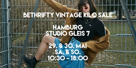 BeThrifty Vintage Pop Up Store | Hamburg - Studio Gleis 7 billets