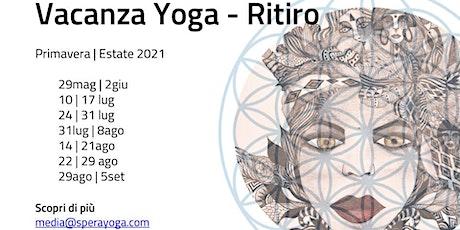 Vacanza Yoga Nel Cuore del Salento - Ritiro biglietti