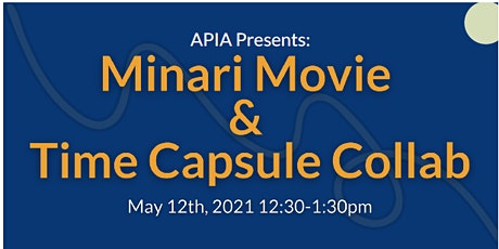 Minari Movie Discussion & Time Capsule Collab tickets
