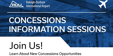 Concessions Information Session tickets