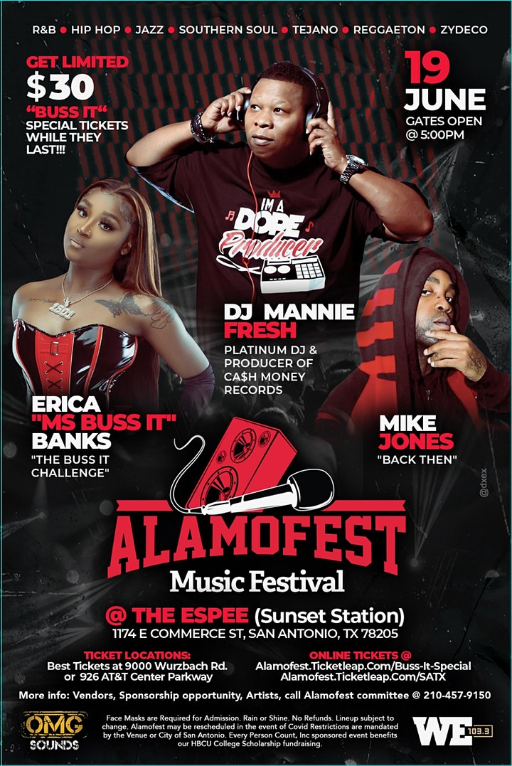 ALAMOFEST MUSIC FESTIVAL image