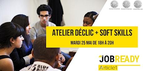 Atelier  déclic + soft skills boletos
