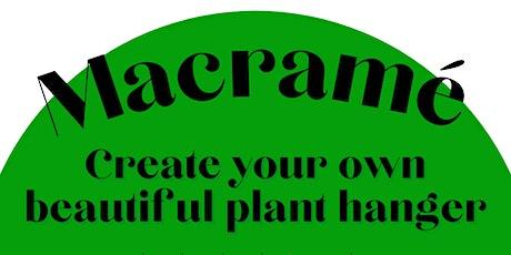 Macrame Plant Hanger - Workshop tickets