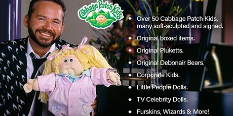 Xavier Roberts Collection - Cabbage Patch Kids Auction tickets