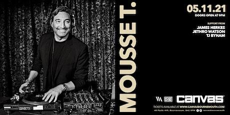 Canvas presents Mousse T & Friends tickets