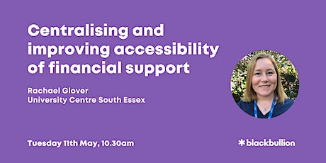Centralising and improving accessibility of financial support [staff event] tickets