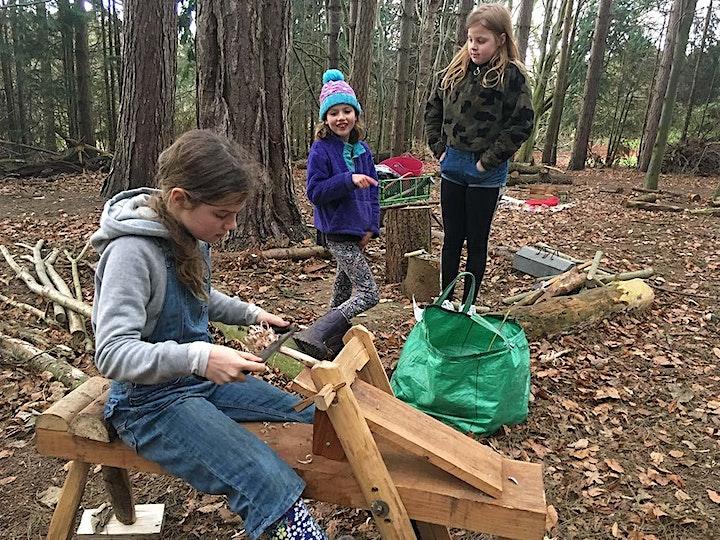 Better Together - LIVE Forest School @ Hawarden Estate image