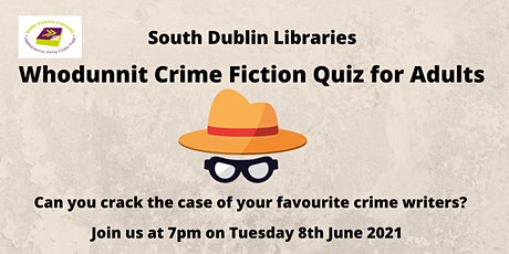 Whodunnit Crime Fiction Quiz tickets