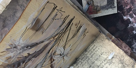 Mixed Media Sketch Book inspired by Whalton Manor Gardens tickets