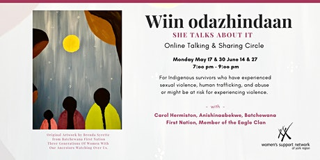 Wiin odazhindaan - Online Talking & Sharing Circle tickets