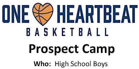 ONE HEARTBEAT BOYS PROSPECT CAMP tickets