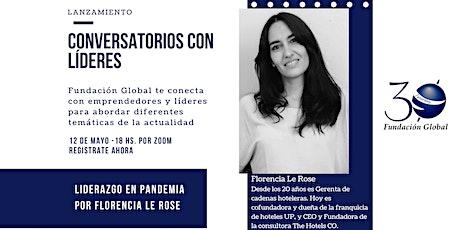 Conversatorios con Líderes: Liderazgo en Pandemia tickets