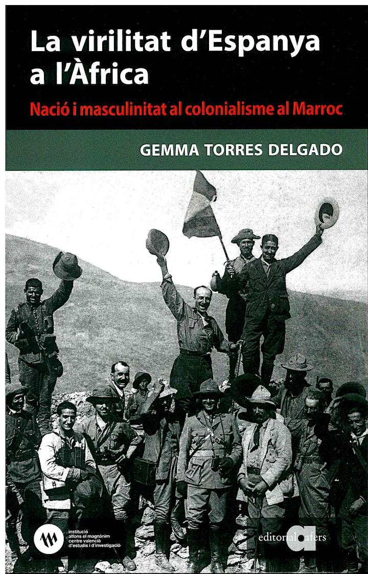 Imagen de Presentació del llibre La virilitat d'Espanya a l'Àfrica, de Gemma Torres