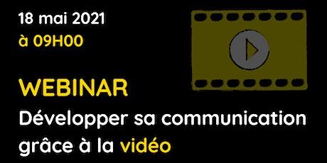 Développer sa communication grâce à la vidéo billets