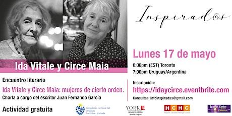 Ida Vitale y Circe Maia: mujeres de cierto orden. entradas