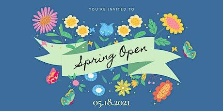 SPRING OPEN! Virtual Volunteer Appreciation Event tickets
