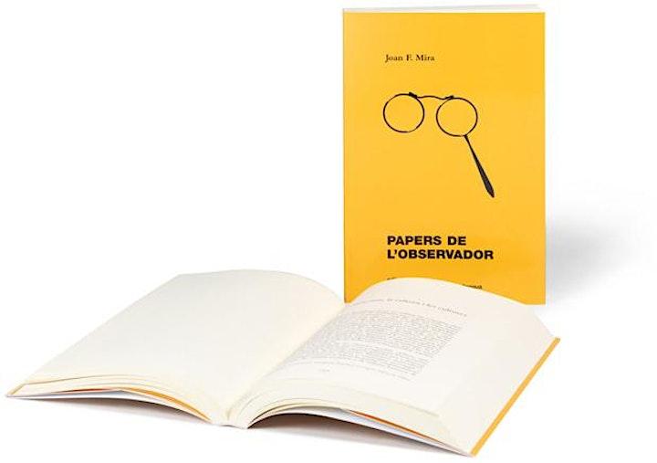 Imagen de Presentació del llibre Papers de l'observador, de Joan F. Mira