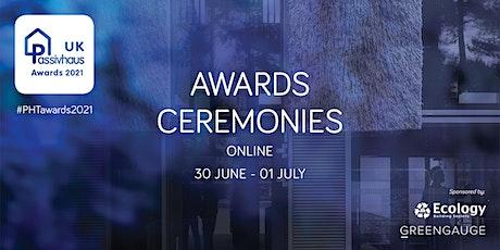The UK Passivhaus Awards Ceremonies tickets
