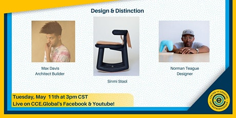 CCE Global Industry Talks - Design and Distinction tickets