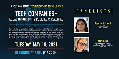 Tech Company Equal Opportunity Policies V. Realities tickets