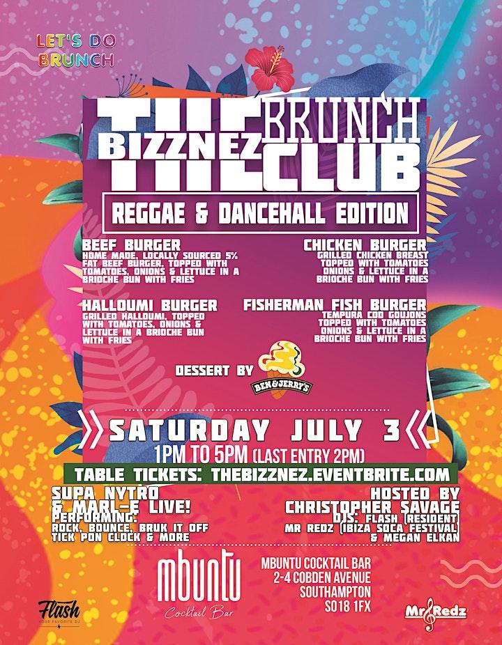 The Bizznez Brunch Club, Southampton. Sat. July 3 image