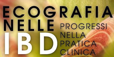 Ecografia nelle IBD - Progressi nella pratica clinica biglietti