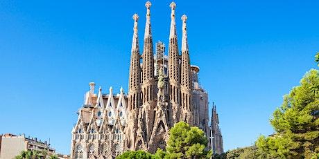 El Sueño de Gaudí. La Sagrada Familia de  Barcelona. Live Streaming Tour Tickets