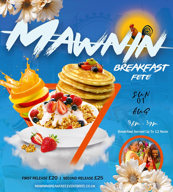 MAWNIN BREAKFAST PARTY image