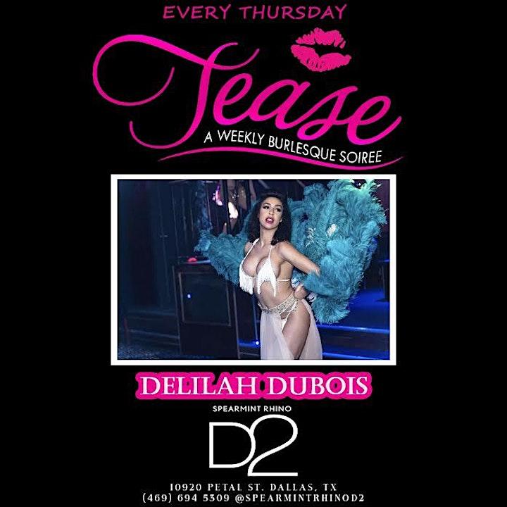 TEASE THURSDAYS- Burlesque Night image
