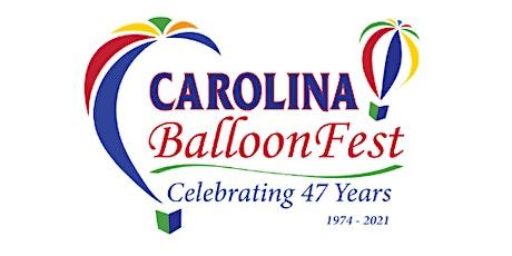 Carolina BalloonFest 2021 tickets