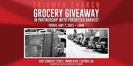 Triumph Church + Forgotten Harvest Grocery Giveaway tickets