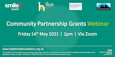 NHS Stage 2 Community Partnerships Grants Webinar tickets