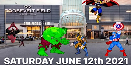 LONG ISLAND SUPERSHOW AT ROOSEVELT FIELD CON -DJ,VENDORS,COMICS,TOYS,CARDS tickets
