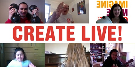 Create Live!– A Visual Art Workshop tickets