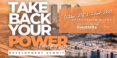 Take Back Your Power Development Summit - Tampa Bay 2021 tickets