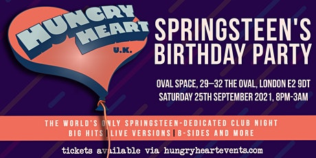 HUNGRY HEART - SPRINGSTEEN'S BIRTHDAY! tickets