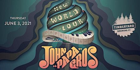 New Orleans' John Papa Gros at Timberyard Brewing tickets