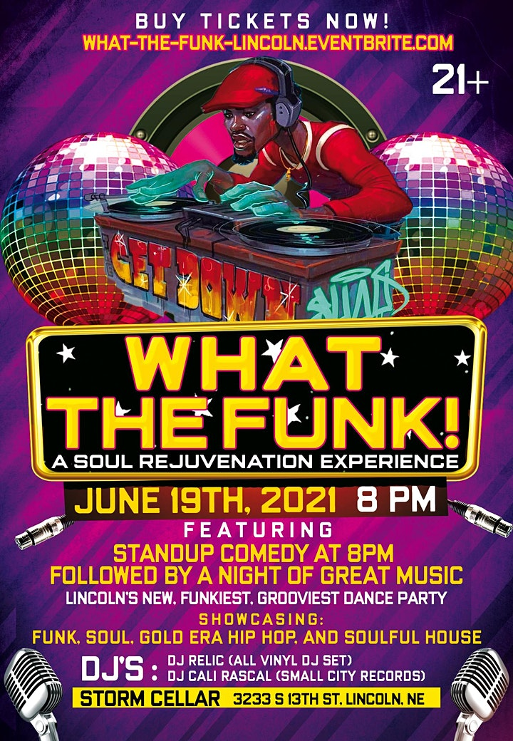 What The Funk! (21+) image