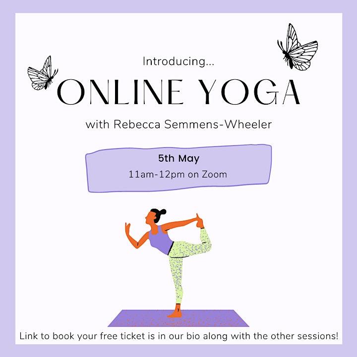 BCU Wellbeing Week - Online Yoga image